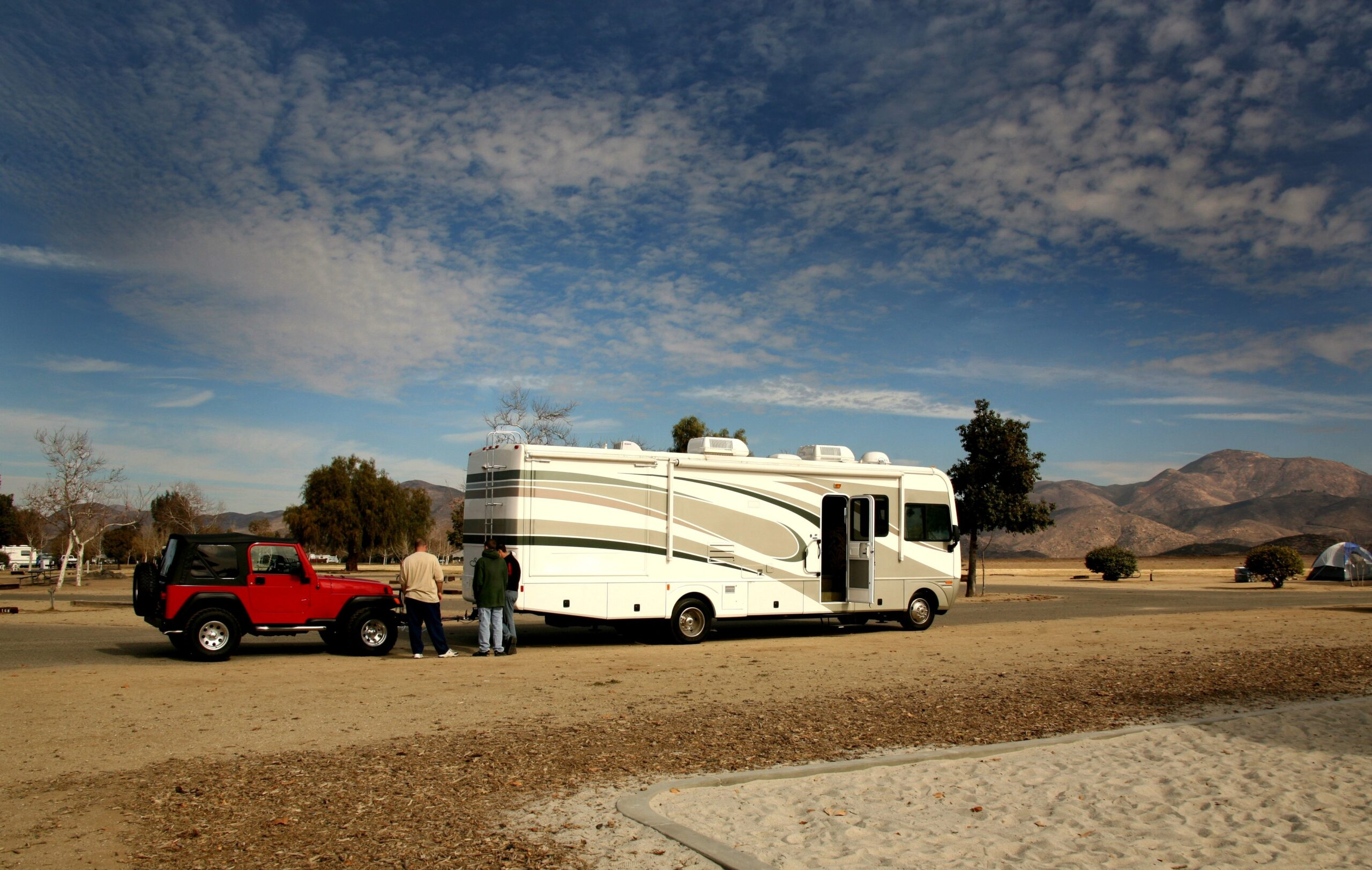 Towing a Vehicle Behind Your RV